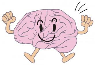 脳の擬人化イラスト