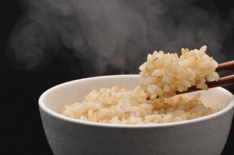 玄米ご飯の写真