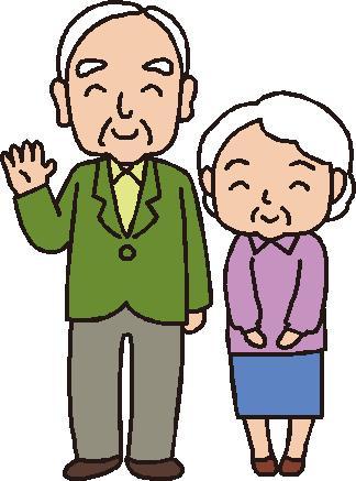 老夫婦のイラスト│ミドリムシは59種類もの栄養素を含んでいることで有名ですが、その中にはがん治療に役立つ成分も少なくありません