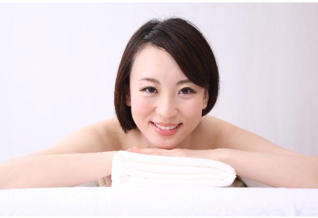 健康な肌の女性の画像