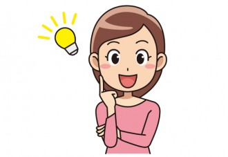 閃く女性のイラスト│コエンザイムQ10がミドリムシ(ユーグレナ)サプリメントに配合されている理由とは?