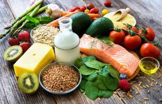 豊富な食材の写真│ミドリムシ(ユーグレナ)に含まれる必須アミノ酸はバランスの良い食事からの摂取が大切